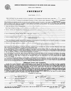 Here is the agreement between the club owner and Silver Laughter.