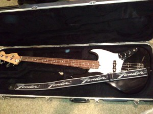 Here is the Fender Jazz bass I currently own. It is a spitting image of the one we used on stage in the late '70's.