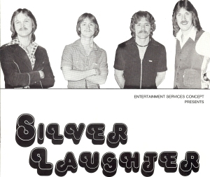 """Here is the cover page I found of another brochure Art """"Smart"""" did for Silver Laughter."""