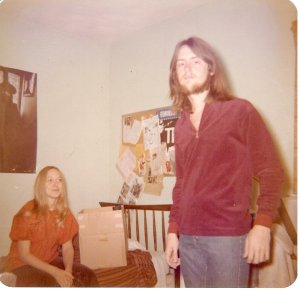 Can anyone say Buffalo Springfield? I had the Neil Young look going on!