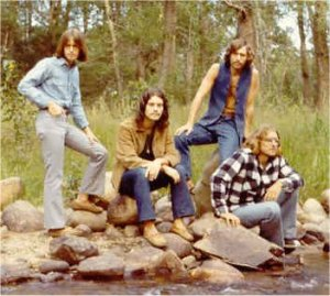Marianne Hute took this photo of the band while we were living in Colorado. From left: Mick Orton, Craig Hute, Dave Neumann and Paul Staack.