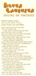 "Lyrics for ""Don't Feel Bad"""