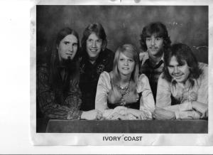 Ivory Coast from left: Paul, Ken, Dee, Rick Garner and Tony Hoeppner.