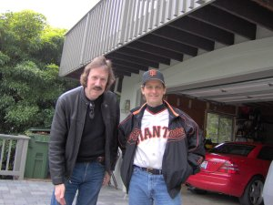 Ken and Mick in Mill Valley