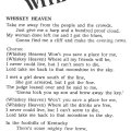 "Lyrics for ""Whiskey Heaven"""