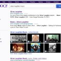 Yahoo Search on Silver Laughter