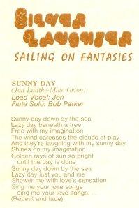 "Lyrics for ""Sunny Day"""