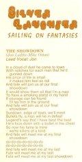 "Lyrics for ""The Showdown"""