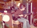 Mick Silver rehearsing... guitar?