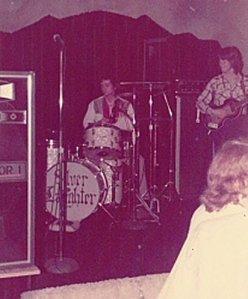Mark with Silver Laughter Cavern Club Moline, IL  1975