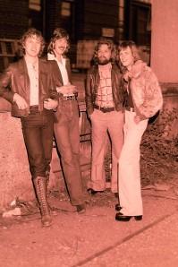 Silver Laughter - 1978 - Jon, Ken, Paul and Mick