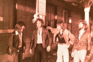 Silver Laughter - 1978 - Ken, Jon, Mick and Paul.