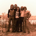 Silver Laughter 1975 - Jon, Ken, Carl (sound and lights), Paul and Mick