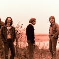 Silver Laughter 1976 - an unscripted photo of the band: Ken, Carl, Paul, Jon and Mick