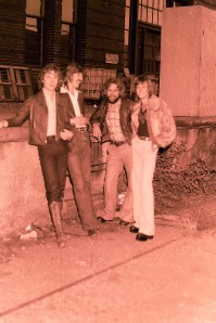 Silver Laughter 1978 - Jon, Ken, Paul and Mick