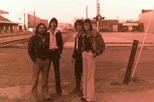 Silver Laughter 1978 - Paul, Ken, Jon and Mick