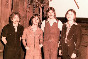 Silver Laughter 1977 - Paul, Mick, Ken and Jon