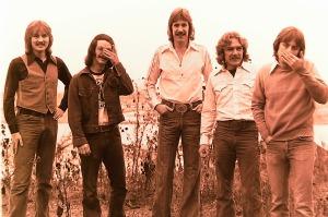 Silver Laughter 1976 - Jon, Carl, Ken, Paul and Mick