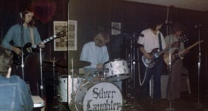 SILVER LAUGHTER AT CODY INN - Jon, Kim, Steve and Denny