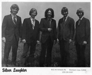 SILVER LAUGHTER SUITS DEMO - John, Denny, Steve, Jon and Kim