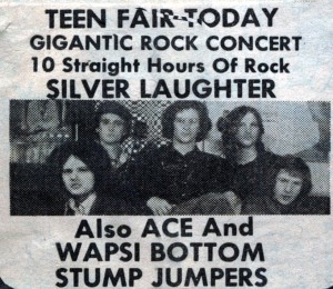 SILVER LAUGHTER AT TEEN FAIR 1970
