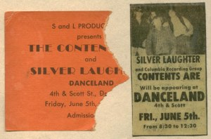 Silver Laughter and The Contents Are: at Danceland