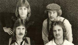 Silver Laughter 1979 - Mick, Kim, Ken and Jon