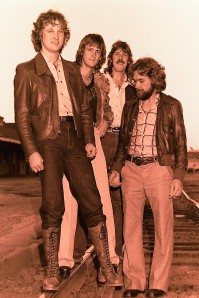 Silver Laughter 1978 - Jon, Mick, Ken and Paul