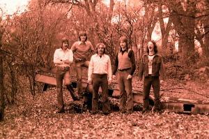 Silver Laughter 1976 - Ken, Mick, Paul, Jon and Carl Frisch