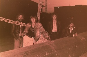 Silver Laughter 1978 - Paul, Mick, Jon and Ken