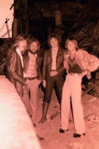 Silver Laughter 1978 - Ken, Paul, Jon and Mick