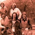 Silver Laughter 1976 - Top: Mick, Paul - Bottom: Ken, Carl and Jon
