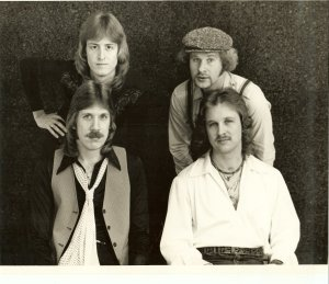 Silver Laughter 1979 - Mick, Kim, Ken and Jon