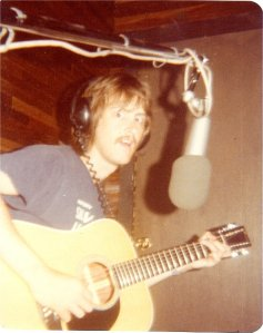 "Mick in studio playing ""Lover"""