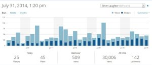 Wordpress Statistics 7-31-14