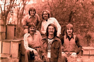 Silver Laughter 1976 - Top: Mick and Paul - Below: Ken, Carl and Jon