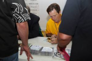 Mick in Autograph Session