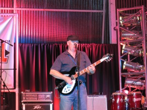 Jonny Silver and his Rickenbacker