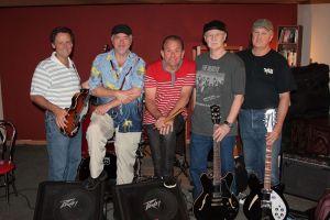 Silver Laughter 2014 - Mick, Mark, Paul, Kim and Jon