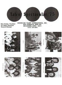 Talent Spectacular '75