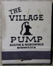 Village Pump matchbook