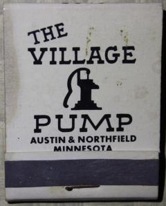 Village Pump matchbook