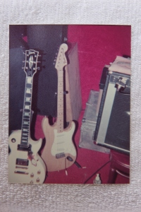 Gibson and Fender guitars