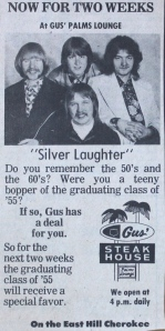 Gus Palms Lounge ad