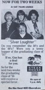 Gus Palms Lounge ad