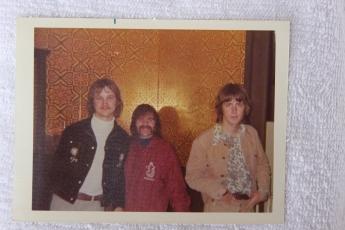 Jon, friend and Mick