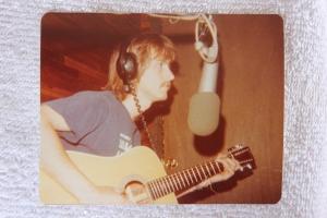 Mick on guitar