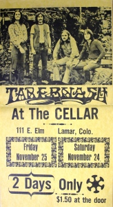 Tabernash poster - Sat. and Sun. days are mixed up!