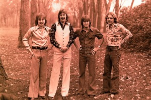 Silver Laughter 1976 - Jon, Ken, Mick and Paul
