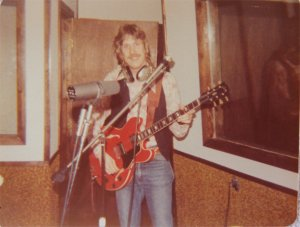 Ken on guitar